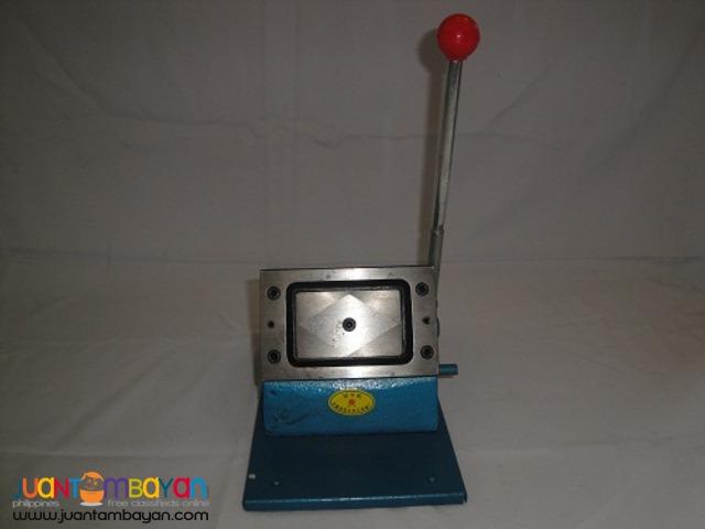 Polaris PVC card die cutter