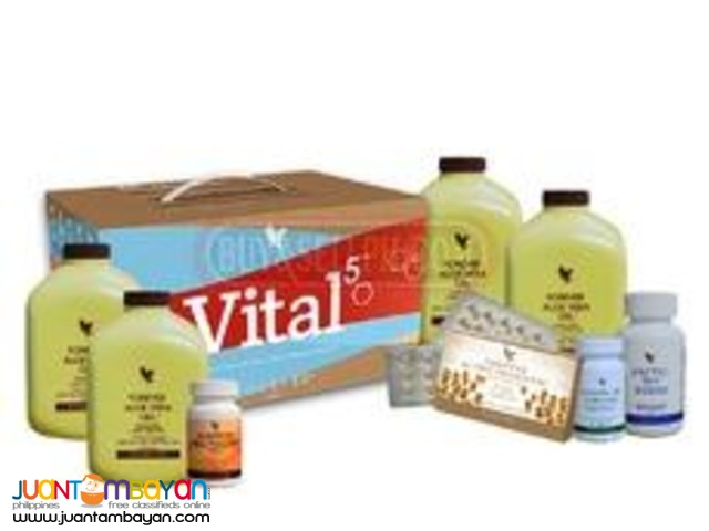 Vital 5 ( to be taken for 30 days by sick people)