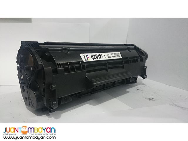 HP Q2612A BLACK LASERJET TONER CARTRIDGE