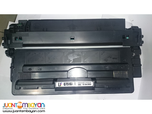 HP Q7516A BLACK LASERJET TONER CARTRIDGE