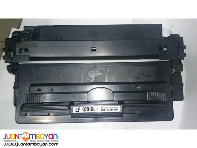 HP Q7516A BLACK LASERJET TONER CARTRIDGE