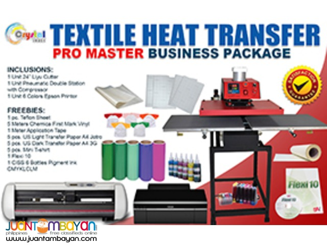 Tshirt Printing Business Package Philippines