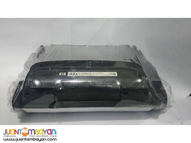 HP Q5942A BLACK LASERJET TONER CARTRIDGE