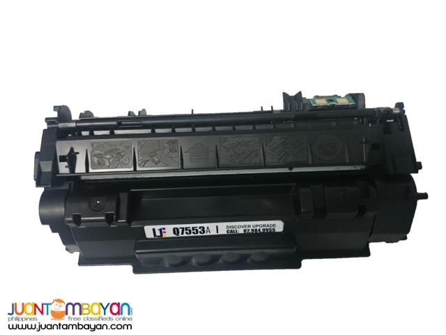 HP Q7553A BLACK LASERJET TONER CARTRIDGE