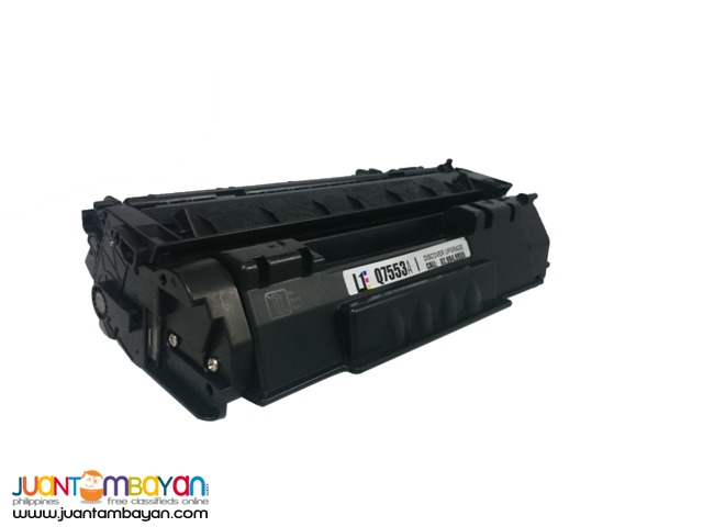HP Q7553A BLACK LASERJET TONER CARTRIDGE