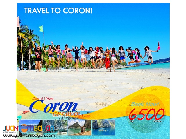 Visit coron and experience the ultimate getaway holidays