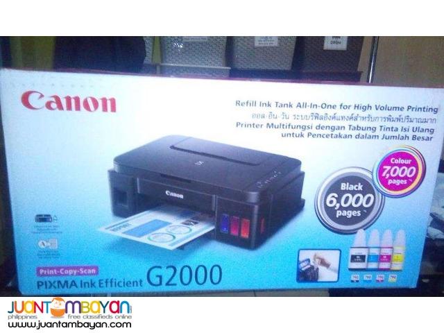 canon-g2000 inkjet for installment printer