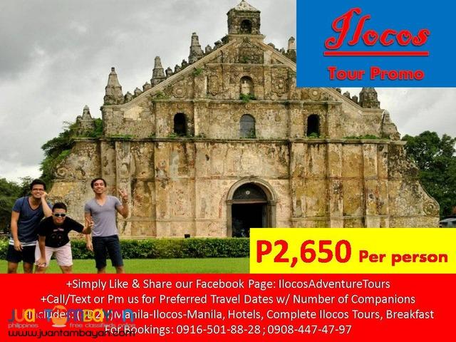 Complete Ilocos Tour Package