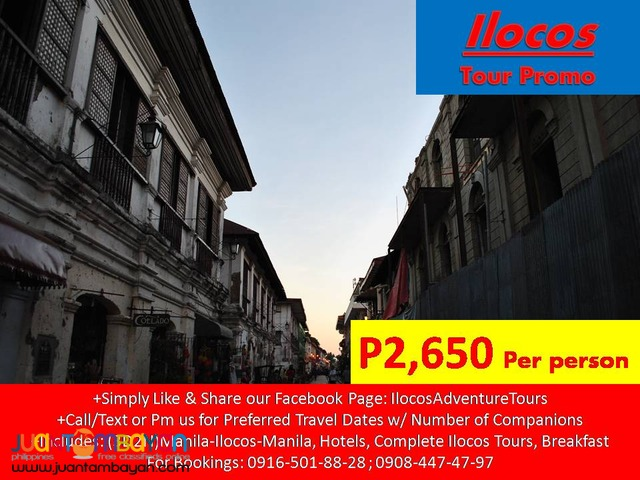 Complete Ilocos Tour Package