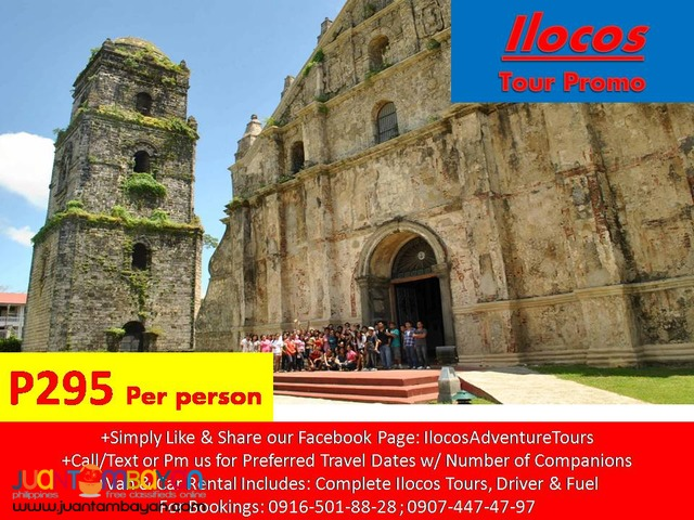 ilocos van and car rentals