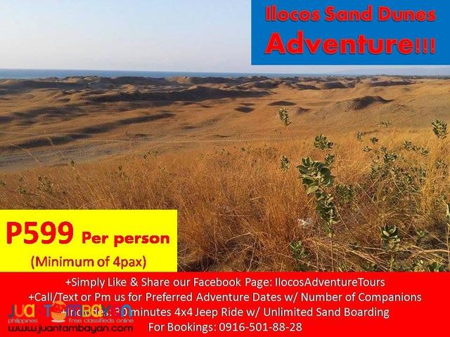 ilocos 4x4 sand dunes adventure