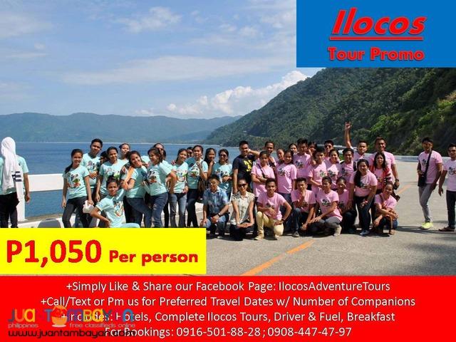 Ilocos 2D1N Tour Package