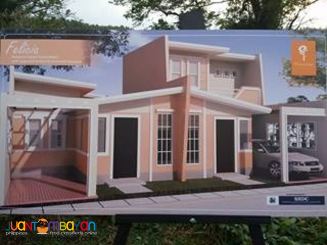 Affordable house and lot thru pag-ibig for as low 2,534/per month