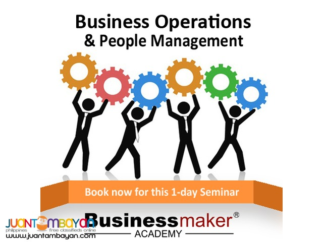 BUSINESS OPERATIONS & PEOPLE MANAGEMENT (JULY 9,2016)