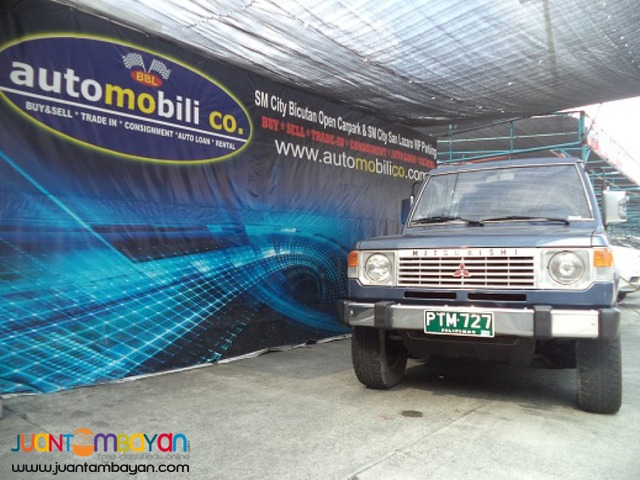 1989 MITSUBISHI PAJERO JAPAN VERSION
