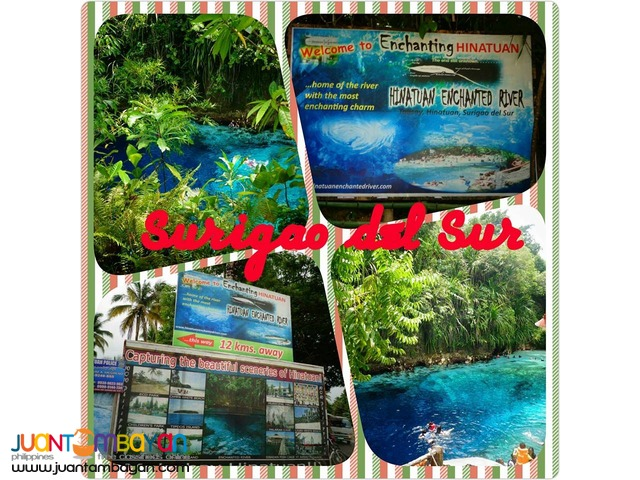 2 days 2 night Surigao del Sur  Joiners travel and tour packages