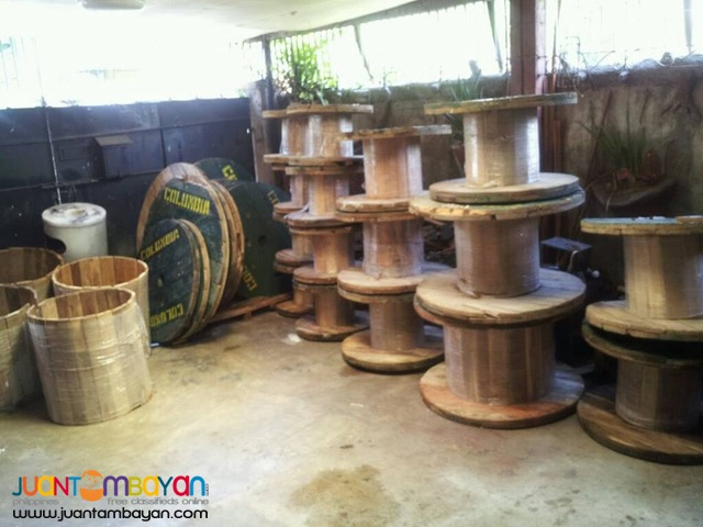 Wooden Spool / Reel / Table Tops