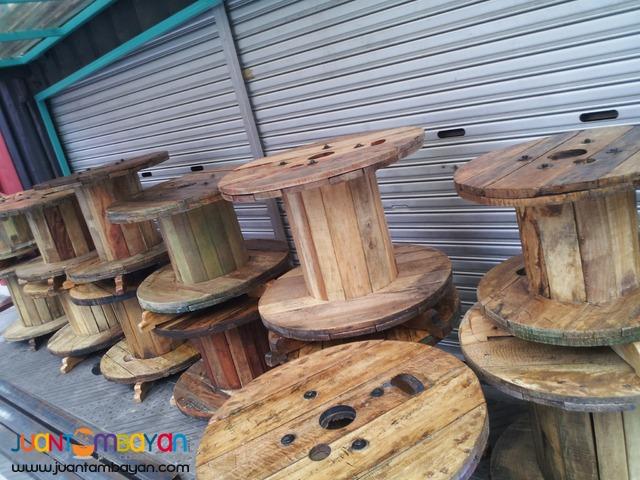 Wooden Spool / Reel / Table Tops