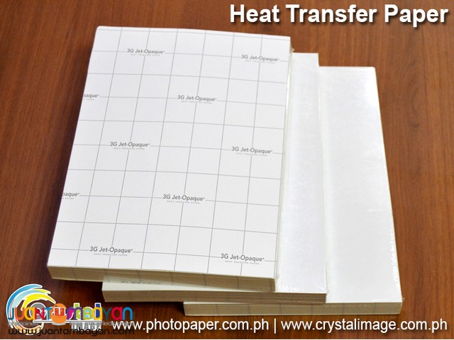 3G Jet Opaque Heat Transfer Paper