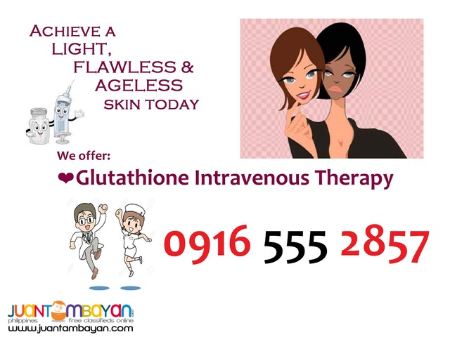 Glutathione Home Service - IV Therapist Nurse