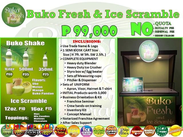 Start your Own Food Cart Business for Only P99,000.00