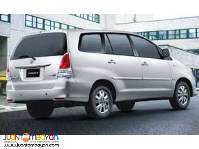 toyota innova for rent
