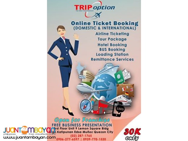 One Stop Shop Ticketing Business