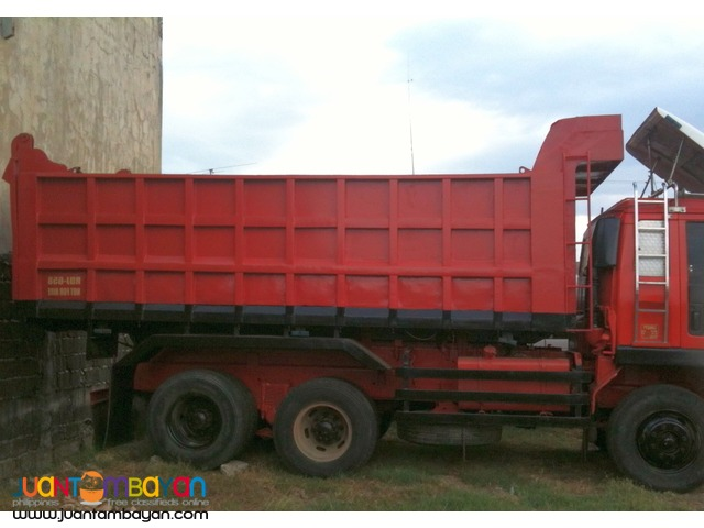 Isuzu Dump Truck 10 Wheeler, High Side Box