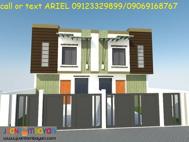 Low DP Elegant Townhouses at Dao 7 Residences marikina