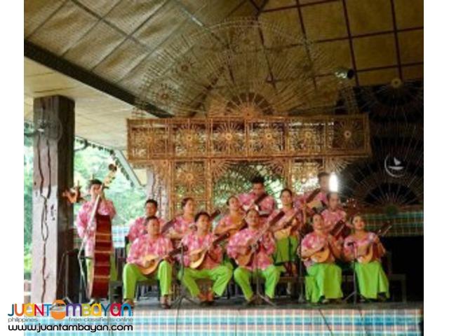 Weekend Cultural Show, Villa Escudero day tour