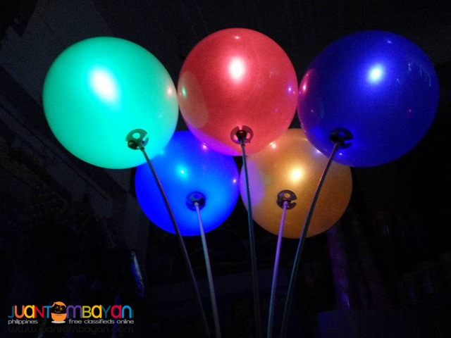 led balloons latex balloons