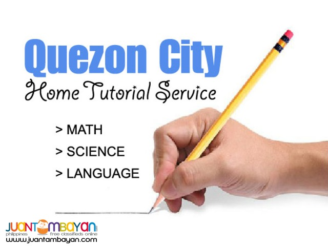 Quezon City Home Tutorial Service