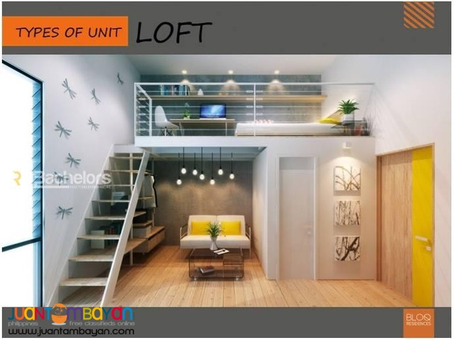 Condo Loft Type as low as P12,197k monthly amort in Cebu City