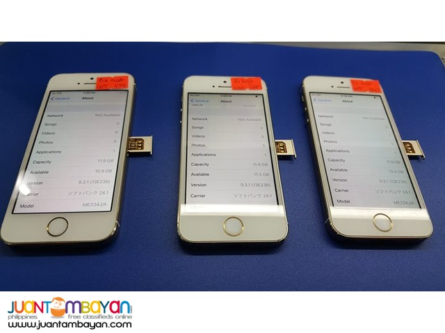 Apple iPhone 5s Gold (Japan-Softbank) 16gb GPP unlock