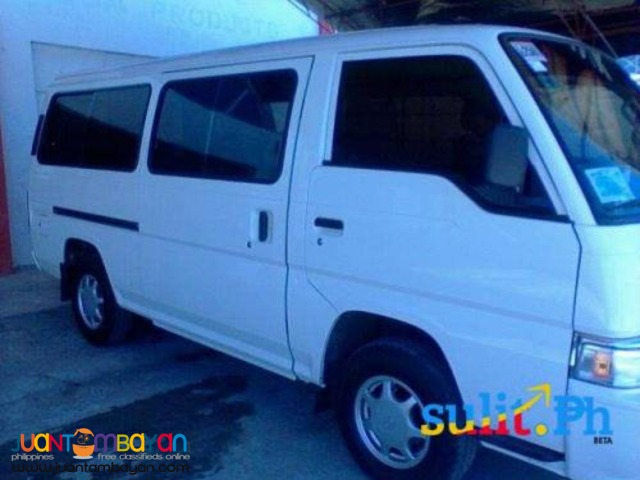 Nissan urvan 18 cap. for rent