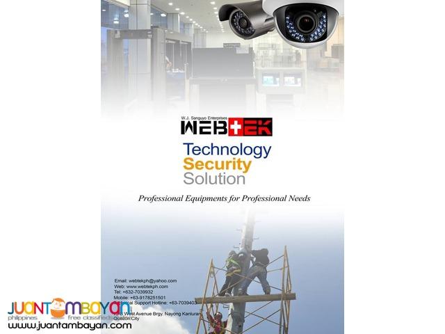 CCTV AVTECH 8CHANNEL 1080P AHD DVR, 2MP AHD CAMERA