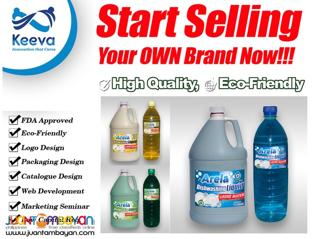 Dishwashing Liquid with Antibac & Moisturizer