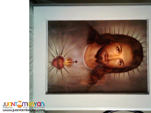The EYE The Sacred Heart of Jesus Frame