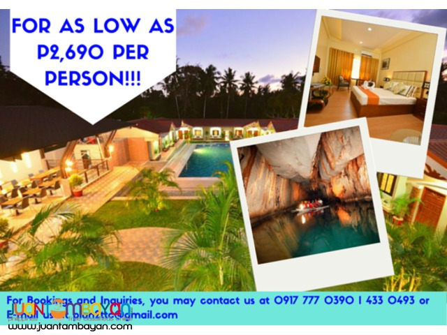 Puerto Princesa Underground River Tour only 2690!!!