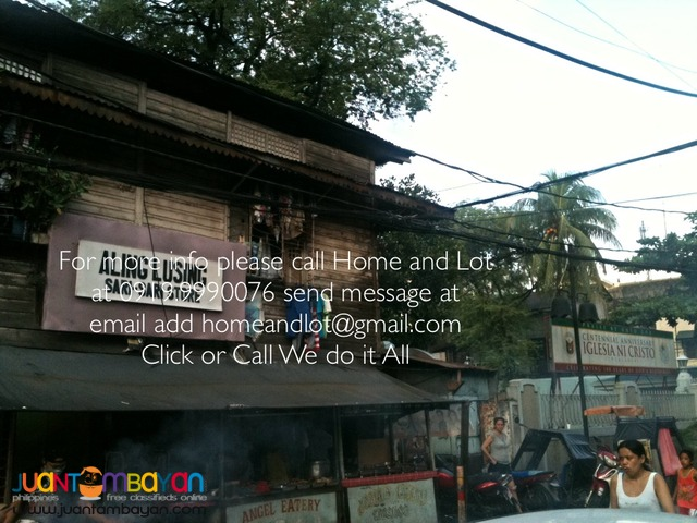 Lot For Sale in U Belt Near Legarda, Manila NCR