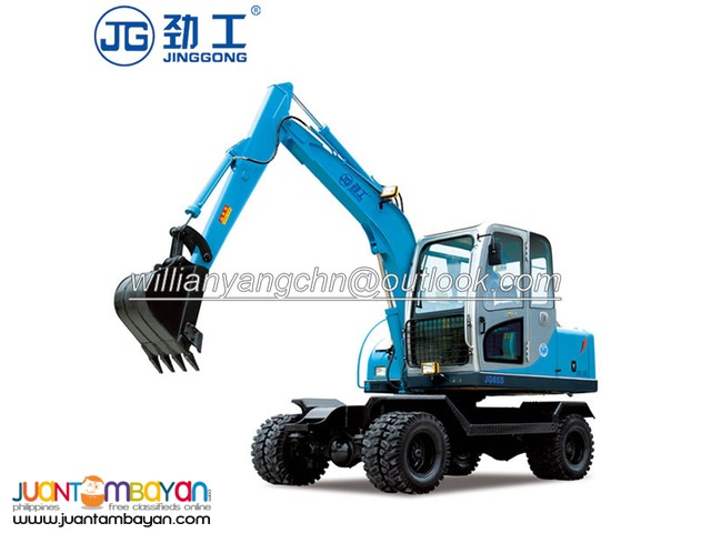 JG65S hydraulic wheel excavtor for hot sale