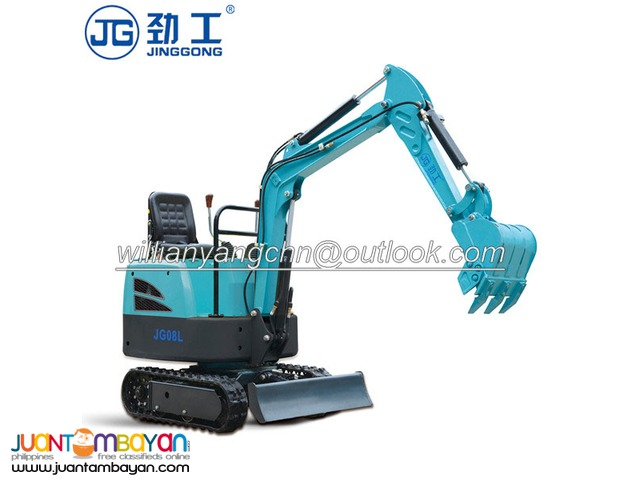0.8 tons rubber crawler excavator for sale with amazed price!