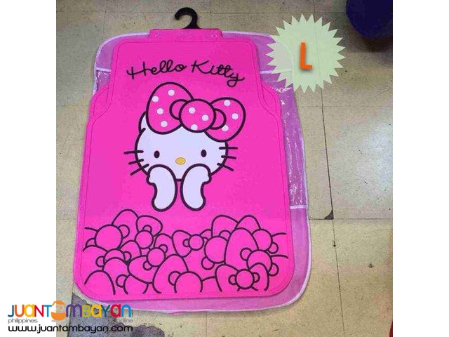 Shop : 5 in 1 HELLO KITTY CAR MAT RUBBER  MATTING