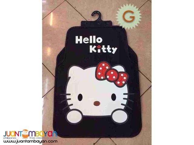 Shop : 5 in 1 HELLO KITTY CAR MAT RUBBER  MATTING