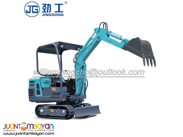 0.9 tons mini rubber crawler excavator, for Orchard ditching!