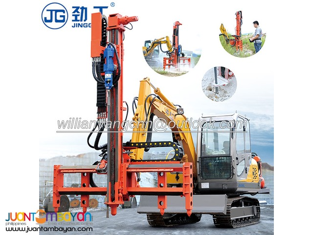JINGGONG rock drilling machine for sale with high performance!