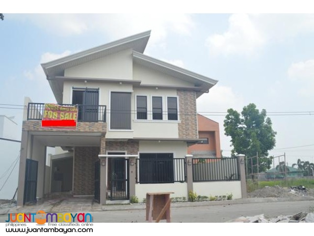 Brand New Two Storey House for Sale in Angeles City