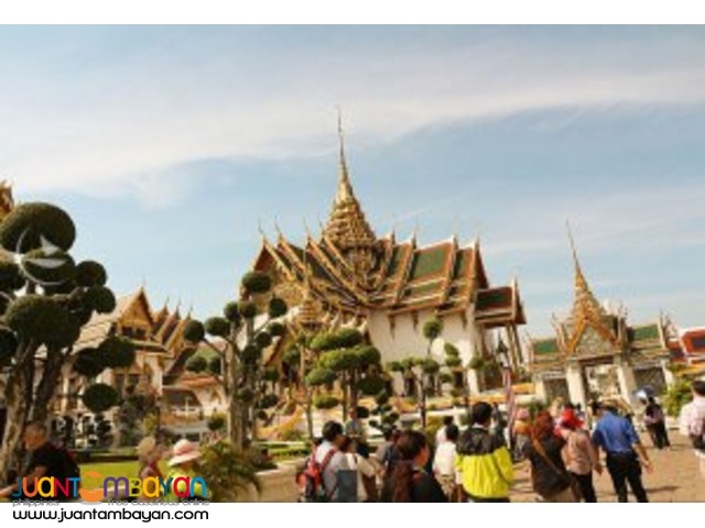 Bangkok tour package, with Palace and Temples