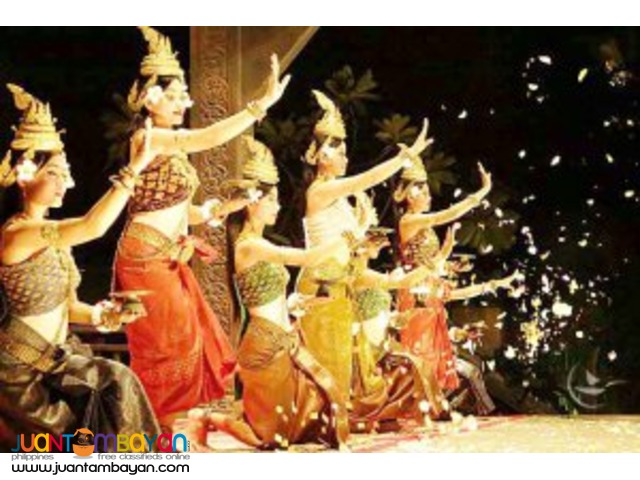 Ancient Art performance, Cambodia tour package