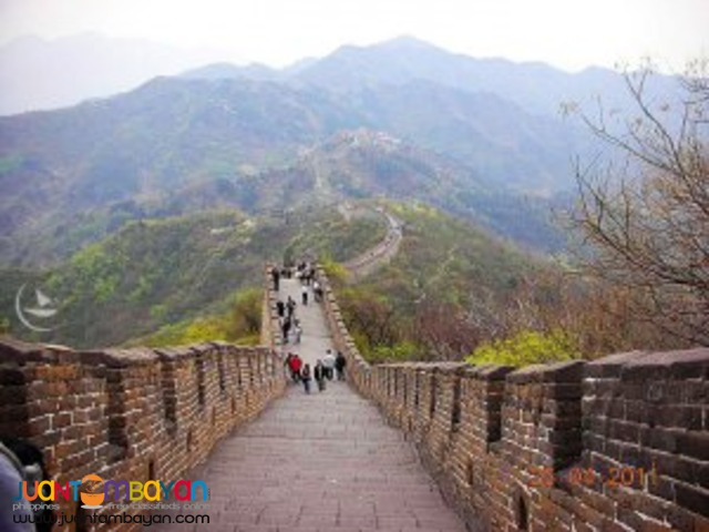 Beijing China tour, with Great Wall of China